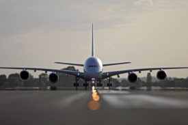 Air France Airbus A380 On Runway